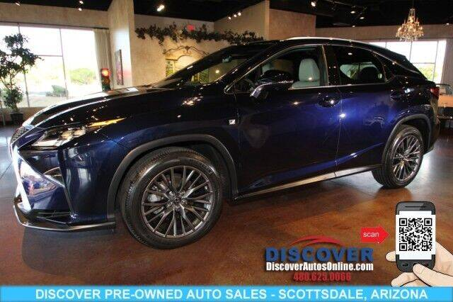 2017 Lexus RX 350 for sale at Discover Pre-Owned Auto Sales in Scottsdale AZ