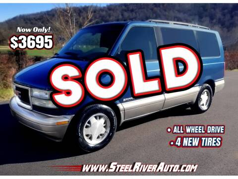 2001 GMC Safari for sale at Steel River Auto in Bridgeport OH