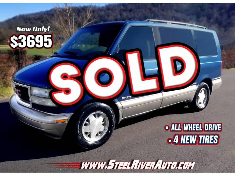 2001 GMC Safari for sale at Steel River Auto in Bridgeport OH