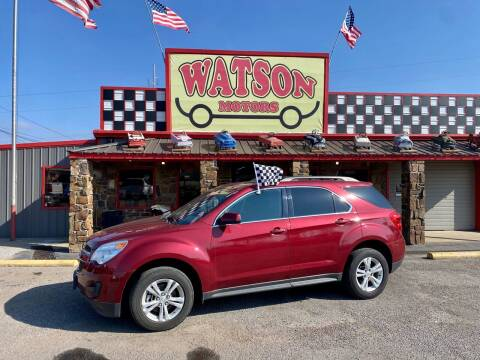 2011 Chevrolet Equinox for sale at Watson Motors in Poteau OK