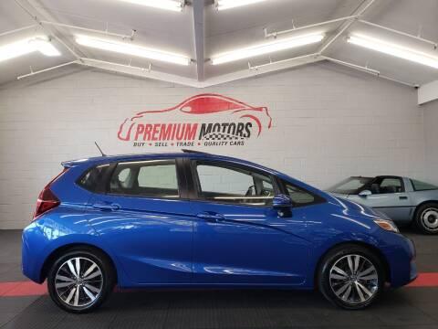 2016 Honda Fit for sale at Premium Motors in Villa Park IL