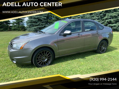 2010 Ford Focus for sale at ADELL AUTO CENTER in Waldo WI