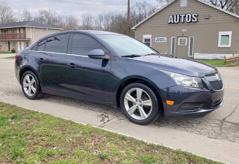 2014 Chevrolet Cruze for sale at Riverfront Auto Sales in Middletown OH