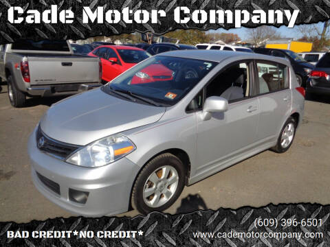 2010 Nissan Versa for sale at Cade Motor Company in Lawrenceville NJ