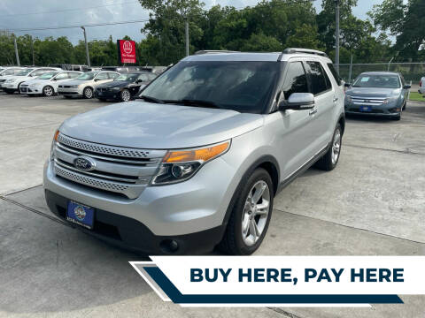 2014 Ford Explorer for sale at H3 MOTORS in Dickinson TX