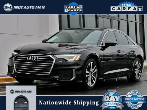 2019 Audi A6 for sale at INDY AUTO MAN in Indianapolis IN