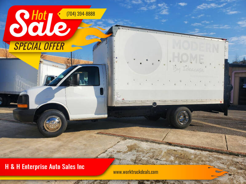 2011 Chevrolet Express Cutaway for sale at H & H Enterprise Auto Sales Inc in Charlotte NC