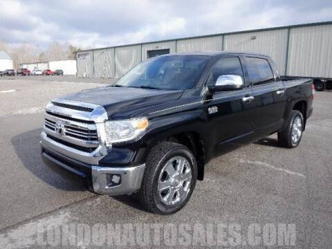 2017 Toyota Tundra for sale at London Auto Sales LLC in London KY