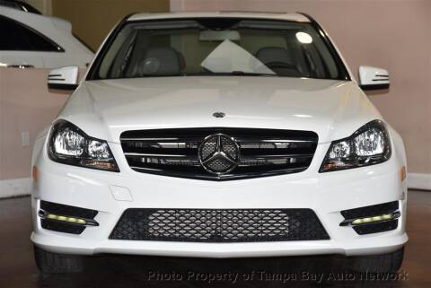 2014 Mercedes-Benz C-Class for sale at Tampa Bay AutoNetwork in Tampa FL