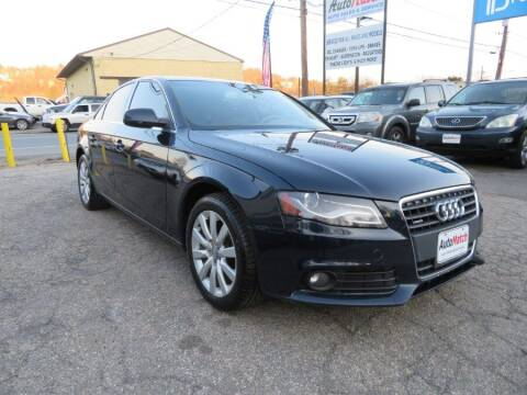 2011 Audi A4 for sale at Auto Match in Waterbury CT