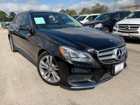 2014 Mercedes-Benz E-Class for sale at KAYALAR MOTORS in Houston TX