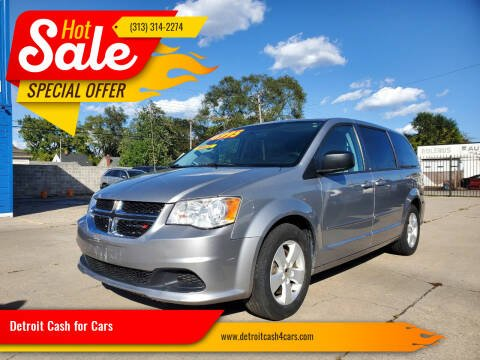 2013 Dodge Grand Caravan for sale at Detroit Cash for Cars in Warren MI