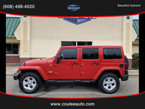 2014 Jeep Wrangler Unlimited for sale at Coulee Auto in La Crosse WI