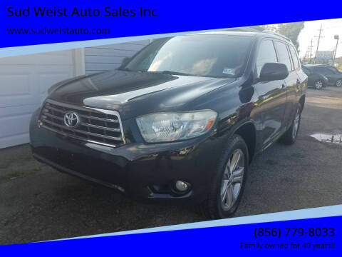 2008 Toyota Highlander for sale at Sud Weist Auto Sales Inc in Maple Shade NJ