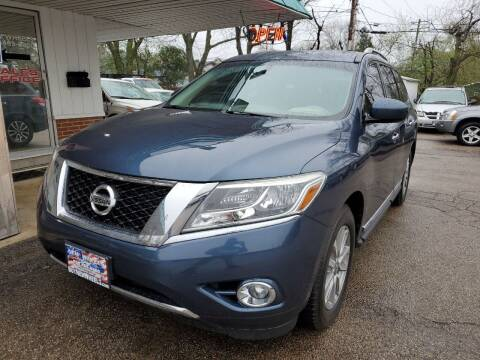 2015 Nissan Pathfinder for sale at New Wheels in Glendale Heights IL