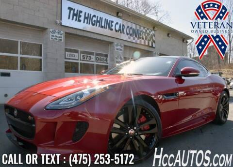 2016 Jaguar F-TYPE for sale at The Highline Car Connection in Waterbury CT