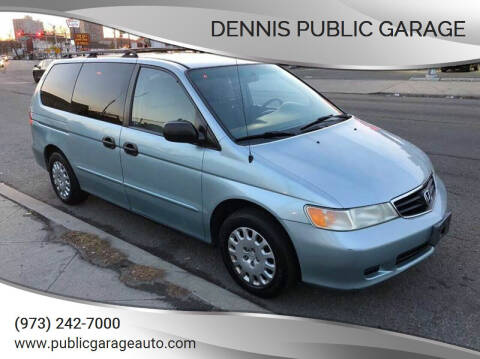 2002 Honda Odyssey for sale at Dennis Public Garage in Newark NJ