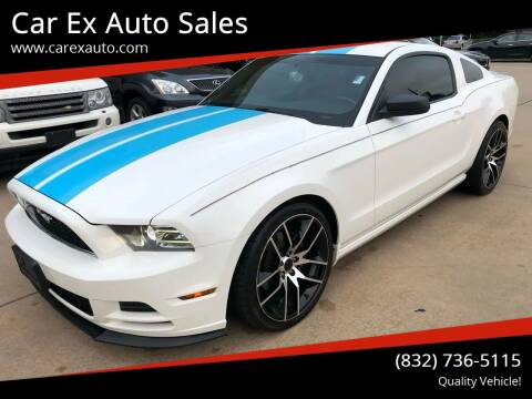 2013 Ford Mustang for sale at Car Ex Auto Sales in Houston TX