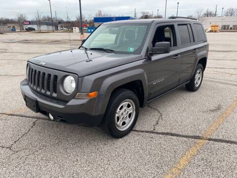 2016 Jeep Patriot for sale at TKP Auto Sales in Eastlake OH