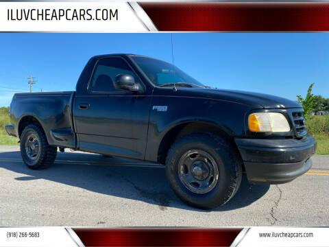 2002 Ford F-150 for sale at ILUVCHEAPCARS.COM in Tulsa OK