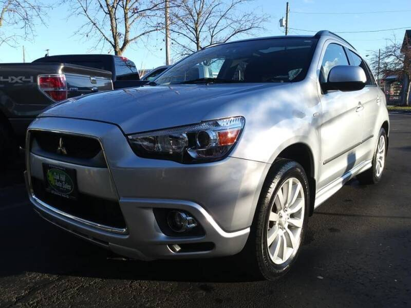 2011 Mitsubishi Outlander Sport for sale at Oak Hill Auto Sales of Wooster, LLC in Wooster OH