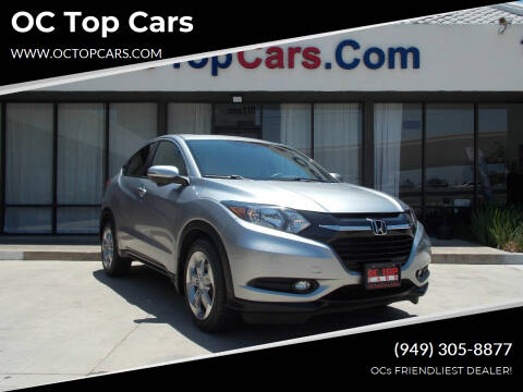 2017 Honda HR-V for sale at OC Top Cars in Irvine CA