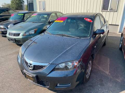 2009 Mazda MAZDA3 for sale at BELOW BOOK AUTO SALES in Idaho Falls ID