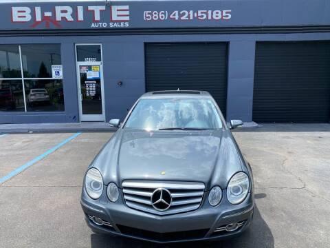 2008 Mercedes-Benz E-Class for sale at Bi-Rite Auto Sales in Clinton Township MI