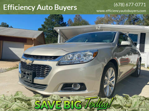 2014 Chevrolet Malibu for sale at Efficiency Auto Buyers in Milton GA