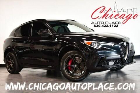 2018 Alfa Romeo Stelvio Quadrifoglio for sale at Chicago Auto Place in Bensenville IL