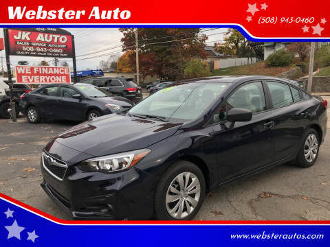 2019 Subaru Impreza for sale at Webster Auto Sales in Webster MA