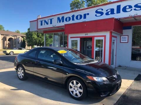 2008 Honda Civic for sale at TNT Motor Sales in Oregon IL