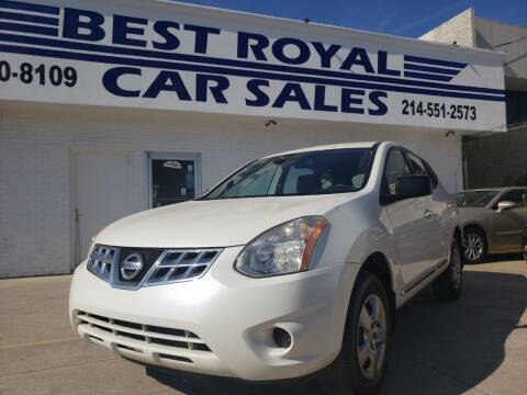2013 Nissan Rogue for sale at Best Royal Car Sales in Dallas TX