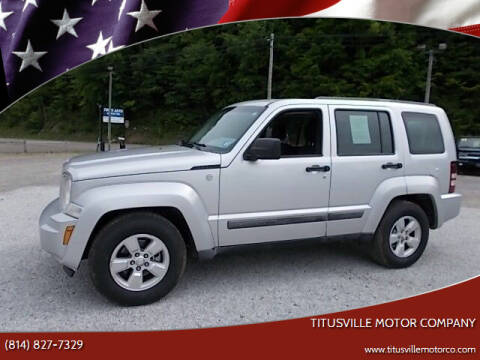 2011 Jeep Liberty for sale at Titusville Motor Company in Titusville PA