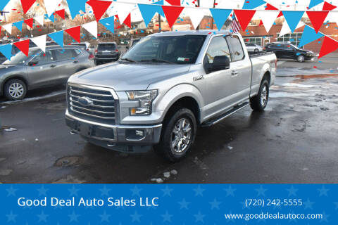 2015 Ford F-150 for sale at Good Deal Auto Sales LLC in Denver CO
