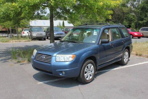 2008 Subaru Forester for sale at Auto Bahn Motors in Winchester VA