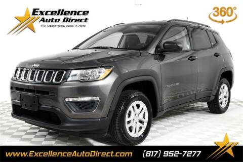 2018 Jeep Compass for sale at Excellence Auto Direct in Euless TX