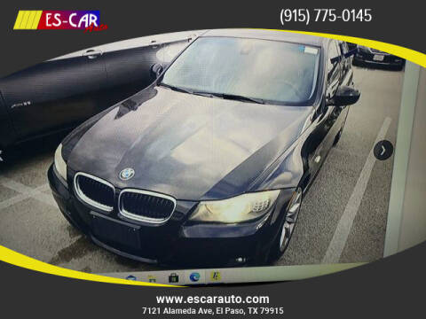 2011 BMW 3 Series for sale at Escar Auto in El Paso TX