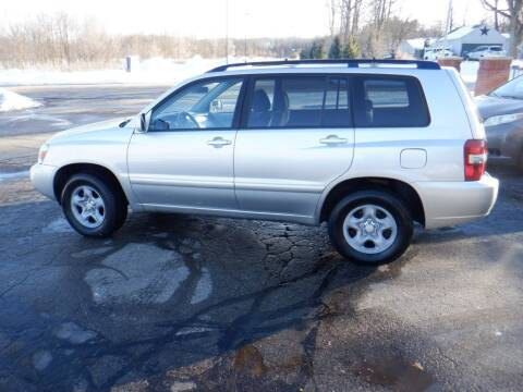 2005 Toyota Highlander for sale at Mobility Motors LLC - Cars in Battle Creek MI