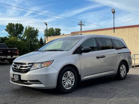 2014 Honda Odyssey for sale at North Imports LLC in Burnsville MN