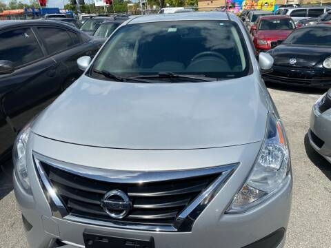 2016 Nissan Versa for sale at America Auto Wholesale Inc in Miami FL