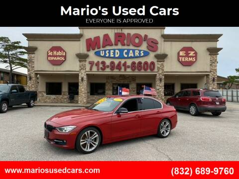 2015 BMW 3 Series for sale at Mario's Used Cars - Pasadena Location in Pasadena TX