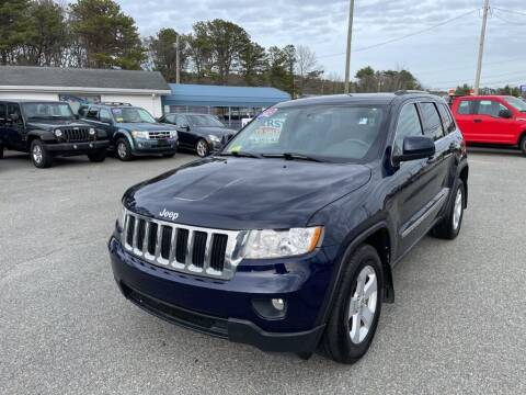2012 Jeep Grand Cherokee for sale at U FIRST AUTO SALES LLC in East Wareham MA