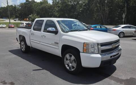 2010 Chevrolet Silverado 1500 for sale at Mathews Used Cars, Inc. in Crawford GA