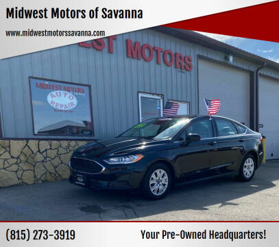 2020 Ford Fusion for sale at Midwest Motors of Savanna in Savanna IL