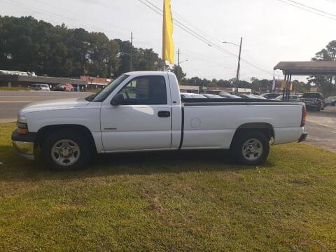 2002 Chevrolet Silverado 1500 for sale at PIRATE AUTO SALES in Greenville NC