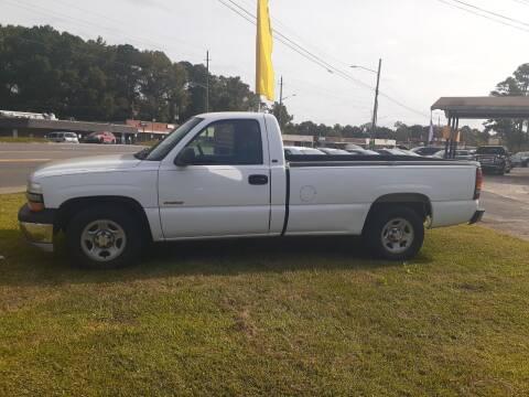 2002 Chevrolet Silverado 1500 for sale at PIRATE AUTO SALES in Greenville NC
