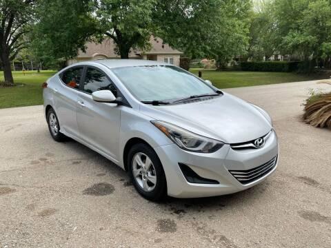 2014 Hyundai Elantra for sale at CARWIN MOTORS in Katy TX