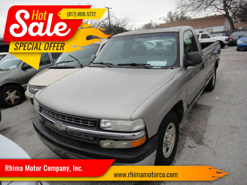 2000 Chevrolet Silverado 1500 for sale at Rhima Motor Company, Inc. in Haltom City TX