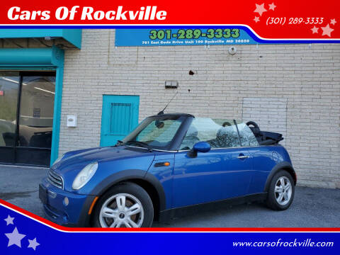 2006 MINI Cooper for sale at Cars Of Rockville in Rockville MD